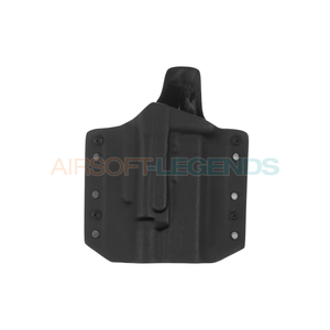 Warrior Assault Systems Warrior Assault ARES Kydex Holster for Glock 17/19 with X400 Black