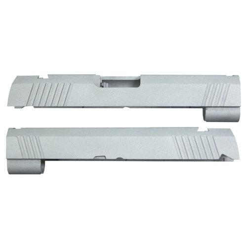 Guarder Guarder Aluminum Slide for Marui Hi-Capa 4.3 - Blank (Silver)