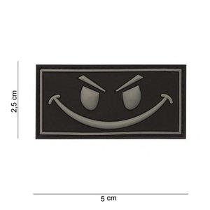 JTG JTG Evil Smiley Rubber Patch Black