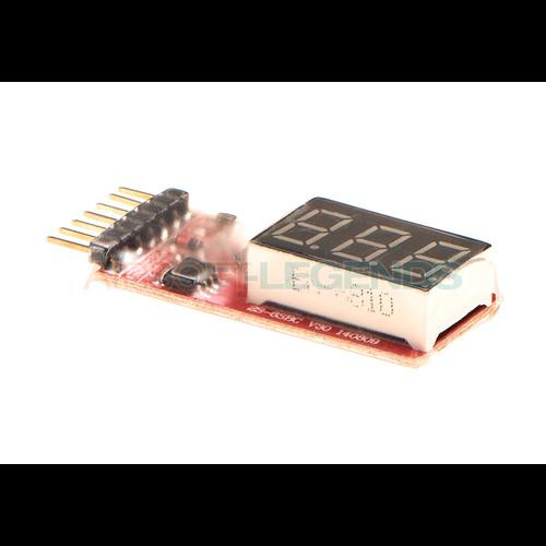 VB Power VB Power Simple Voltage Display 1-6S Lipo Meter
