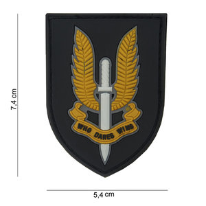 101Inc. Who Dares Wins Rubber Patch