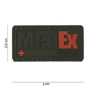 101Inc. MedEx Rubber Patch OD