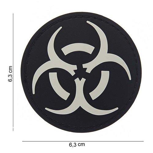 101Inc. Resident Evil Rubber Patch Black/White