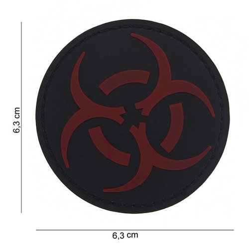 101Inc. Resident Evil Rubber Patch Black/Red