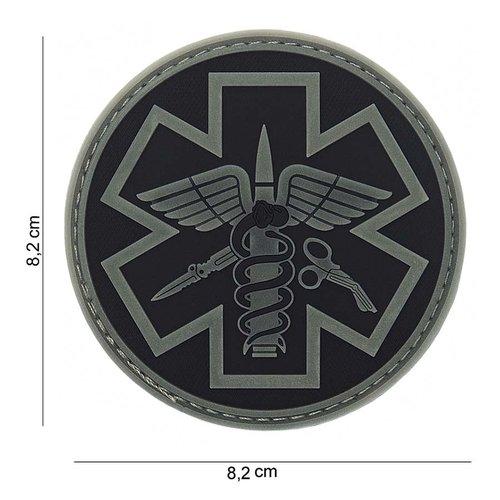 101Inc. Para Medic Rubber Patch Black/Grey