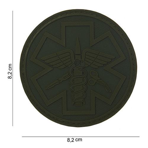 101Inc. Para Medic Rubber Patch Green