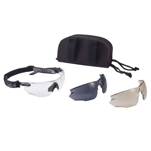Bollé Combat Kit Platinum Bril Black