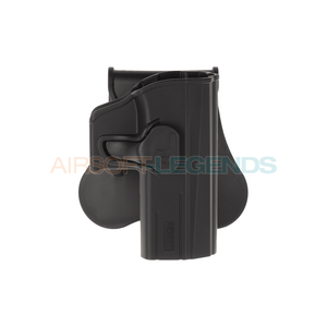 Amomax Paddle Holster for CZ Shadow 2 Black