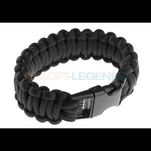 Invader Gear Paracord Bracelet Black