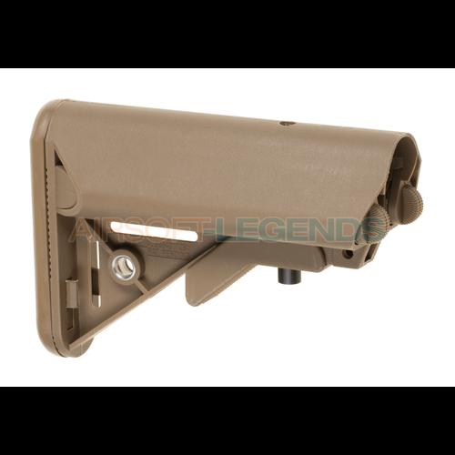 Pirate Arms Mk18 Mod 0 LMT Crane Stock Tan