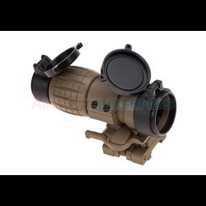 Aim-O FXD 4x Magnifier Dark Earth