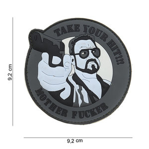 101Inc. Take Your Hit Patch Grey