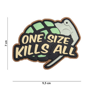 101Inc. One Size Kills All Patch