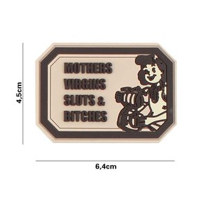 101Inc. Mothers Virgin PVC Patch Coyote