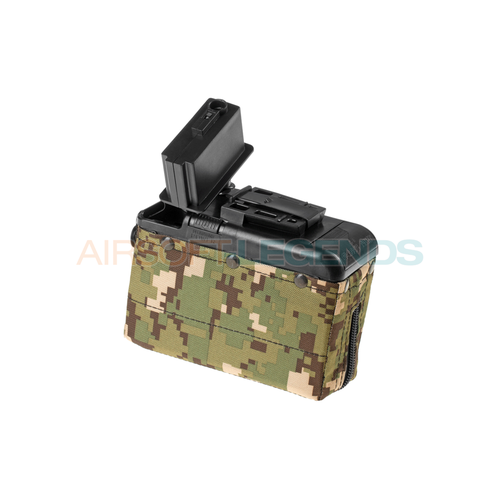 Classic Army M249 Boxmag 1200rds Woodland
