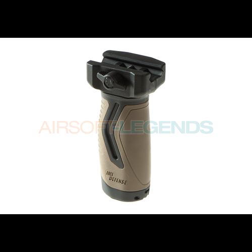 IMI Defense OVG Overmolding Vertical Grip Black/Tan