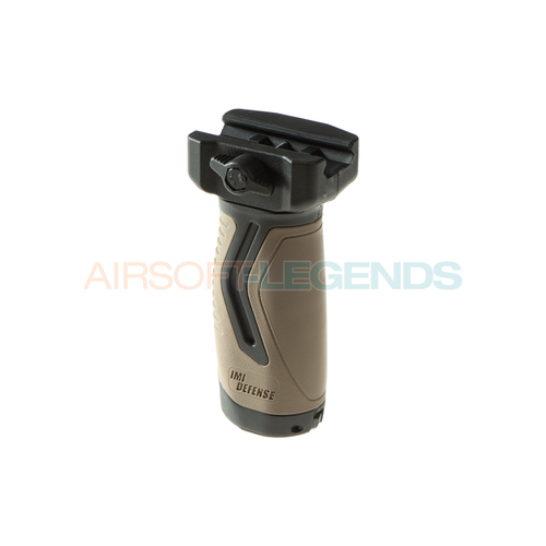 IMI Defense OVG Overmolding Vertical Grip Tan/Black