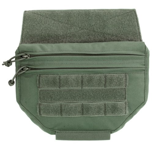 Warrior Assault Systems Drop Down Velcro Utility Pouch OD Green