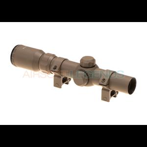 Aim-O 1-4x24 Tactical Scope Desert
