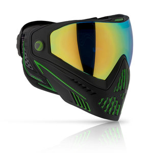 Dye Precision i5 Goggle EMERALD Blk/Lime 2.0