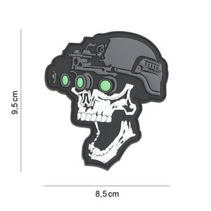 101Inc. Night Vision Skull Patch