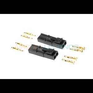 Prometheus Gold Pin Connector Set Tamiya Large Connector