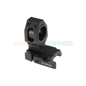 Aim-O 25.4 / 30mm Tactical QD Scope Mount Black