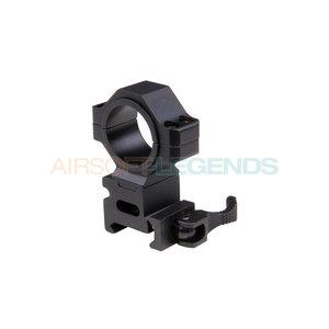 Pirate Arms 25.4 / 30 mm QR Mount Ring Black