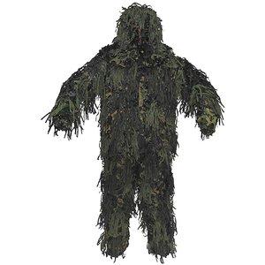 MFH Ghillie Suit Jackal 3D Body System
