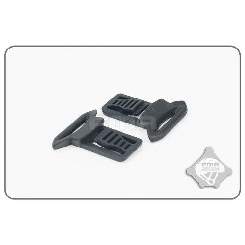 FMA Goggle Swivel Clips 19mm Black