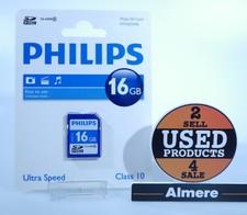 Philips 16GB SDHC Kaart   Nieuw in verpakking
