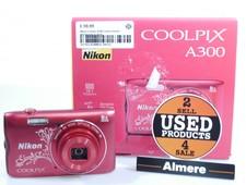 Nikon Coolpix A300 Camera Rood   Nieuwstaat in doos