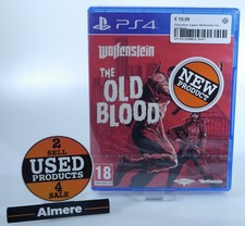 playstation Playstation 4 Game: Wolfenstein The Old Blood