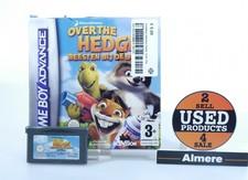 nintendo Gameboy Advance Game: Over The Hedge Beesten bij de buren