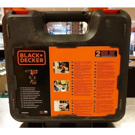 Black & Decker Accuboormachine BDCDD12K1   Nieuw in doos