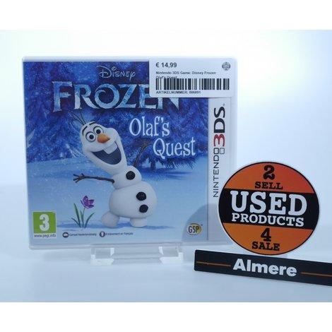 Nintendo 3DS Game: Disney Frozen Olaf's Quest