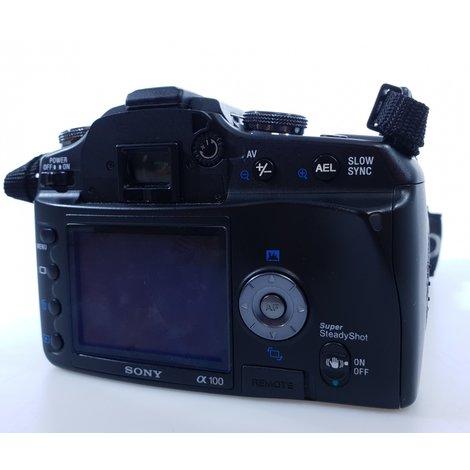 Sony DSLR-A100 incl 18-70mm lens | Nette staat met garantie