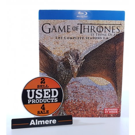 Game of Thrones The Complete Seasons 1t/m6 - Blu-ray