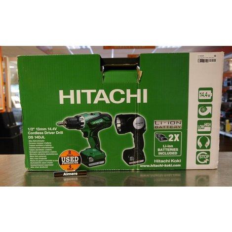 Hitachi DS14DJL in koffer | Nette staat