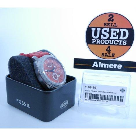Fossil FS4808 RED | Nette staat met garantie