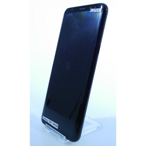 Samsung Galaxy S8+ 64GB Midnight Black   Nette staat