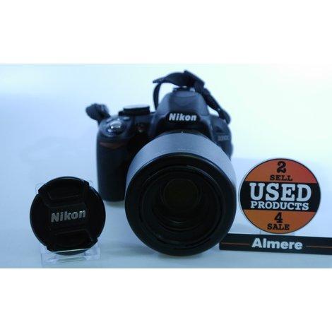 Nikon D3100 + Nikon AF-S Nikkor 55-200mm 1:4-5.6G ED VR | Nieuwstaat