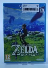 Nintendo Wii U Game: Zelda Breath of the wild