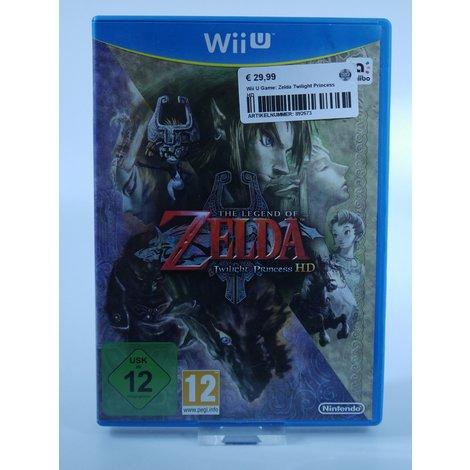 Nintendo Wii U Game: Zelda Twilight Princess HD