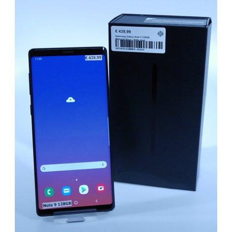 Samsung Galaxy Note 9 128GB Midnight Black | Nette staat