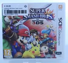 nintendo Nintendo 3DS Game: Super smash Bros 3DS