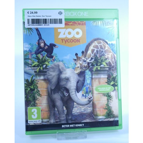 Xbox One Game: Zoo Tycoon