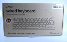 ZAGG Wired keyboard met lightning port | Nieuw