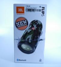 JBL JBL Flip 5 Draadloze Bluetooth Speaker Camouflage | Nieuw