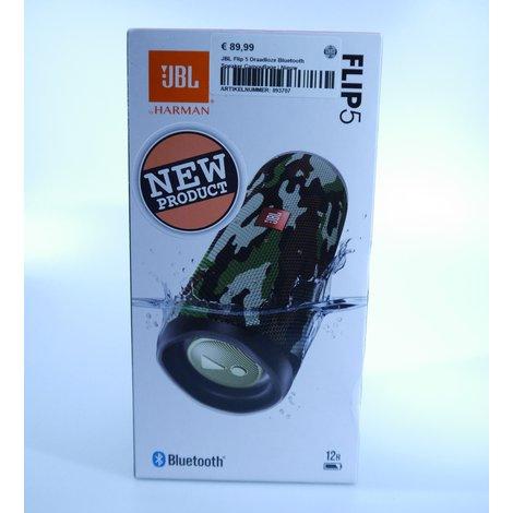 JBL Flip 5 Draadloze Bluetooth Speaker Camouflage | Nieuw